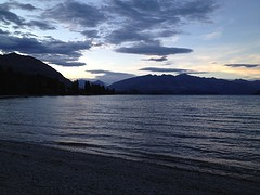 Lake Wanaka bij NIGHT