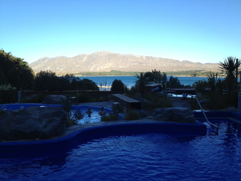 Hotsprings Lake Tekapo