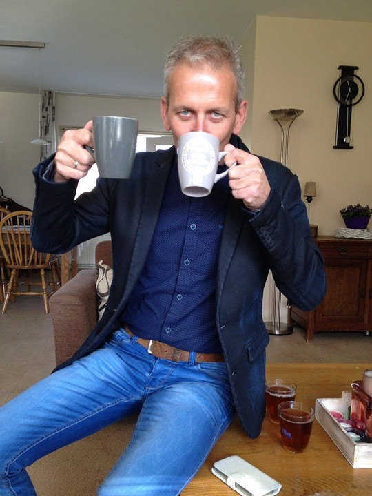 En toen was er koffie, echte koffie.