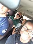 Jed,Henk,Olly,Annie selfie