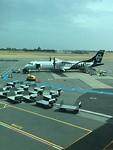 vliegtuig naar Dunedin