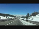 Onderweg van Denver naar Grand Lake vie Granby, onderlangs.