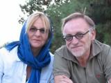 Anny en Guido in Ispahaan