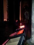Chartres kathedraal - kaars branden