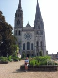 Chartres kathedraal Anny
