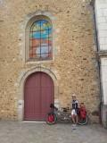 Cloyes kerk Jacobsschelp