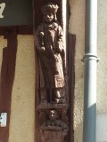 Vendôme houtgesneden St.Jacobsbeeld