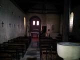 kerkje in Antogny-le Tillac inter