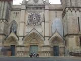 Poitiers St.Pierrekathedraal 3 portalen