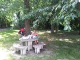 picknick ma 1 juli 28°C