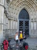 Saintes kathedraal St.Pierre portaal