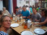St.Jean-Pied-de-Port refuge diner