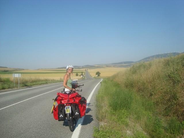 de weg rond Pamplona