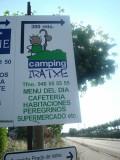 Irache - camping pelegrinos