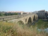Puente la Reina - boogbrug over de rio  Arga
