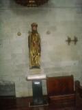 Puente la Reina - StJacobskerk StJacob als pelgrim