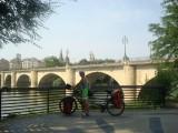 Logroño brug over Ebro
