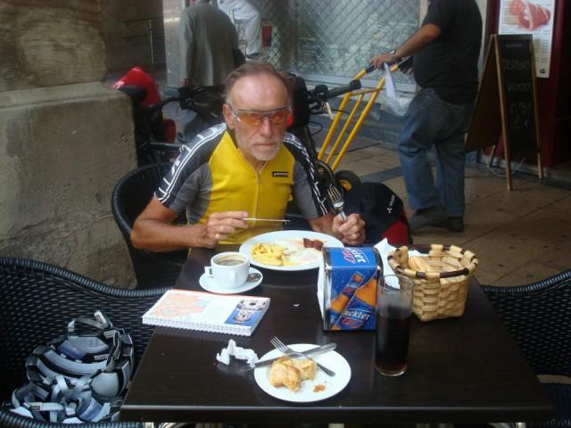 Logroño ontbijt