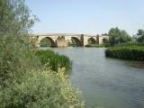 Rio Pisuerga Middeleeuwse brug met 12 bogen