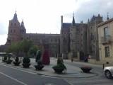 Astorga kathedraal en paleis Gaudi