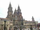 Santiago kathedraal en plein