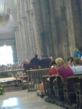 kathedraal Botafumeiro de bedieners