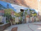 Muurschildering in Helena