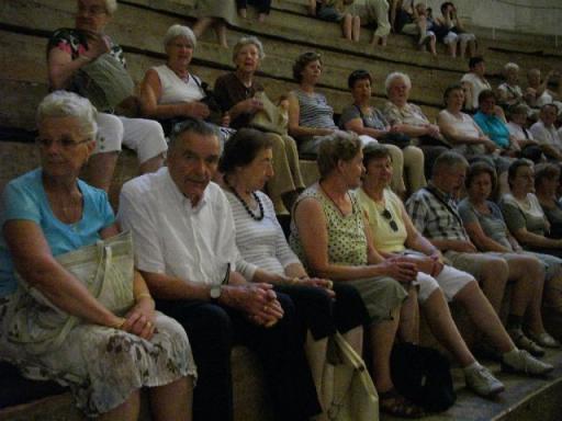 In het Teatro Olimpico