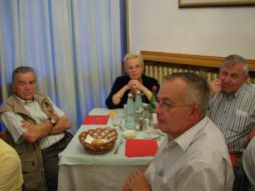 Ons laatste avondeten in Padua (1)