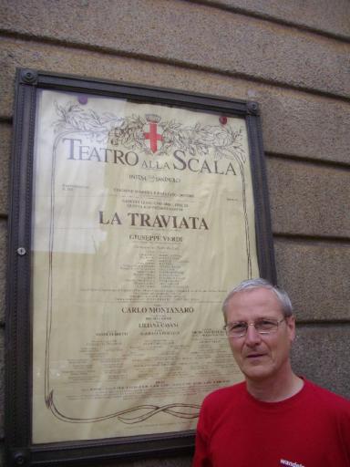 Guy voor de affiche van La Traviata