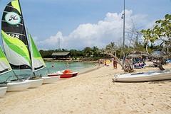 Het strand bij hotel Blau Costa Verde