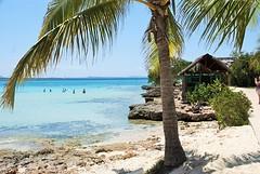 De zee bij hotel Blau Costa Verde