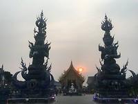 Wat rong suea-ten. Boeddhistische tempel