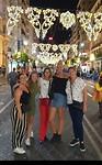 Louka, Anna, Nicole, Georgia en ik