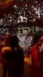 Hoan Kiem Lake in de avond