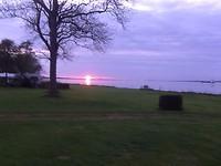 Prachtge zonsondergang gisteravond