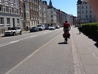 Lekker in t zonnetje fietsen