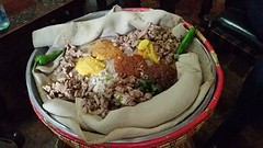 Een heerlijke Ethiopische schotel voor 4 personen