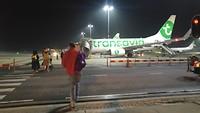 rotterdam airport, vertrekken