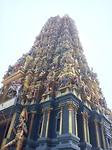 Kleurrijke Hindi tempel.