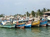 Vissershaven van Ngombo.