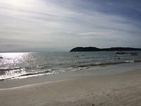 Het strand van Langkawi.