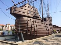 Portugees schip Flor de la Mar.