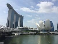 Bijzondere gebouwen in Singapore.
