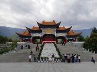 Ingang van het tempelcomplex