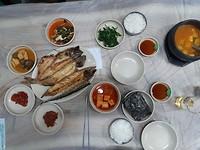 Heerlijke gebakken vis