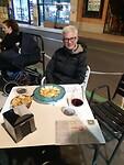 Buiten eten in Salamanca