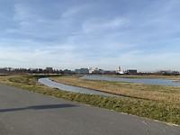 Munnikkenpark, uitzicht op Alrijne Ziekenhuis