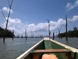 Brokopondomeer: Tocht over het meer.