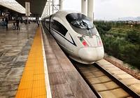 Hogesnelheidstrein naar Xi'an